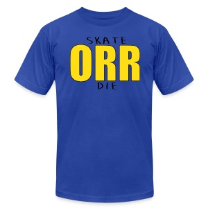 Skate Orr Die - Men's T-Shirt by American Apparel