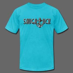 Saugatuck - Men's T-Shirt by American Apparel