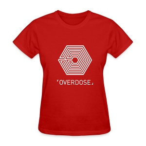 EXO Overdose ENG Black - Women's T-Shirt