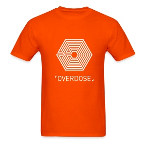 EXO Overdose ENG Black - Men's T-Shirt