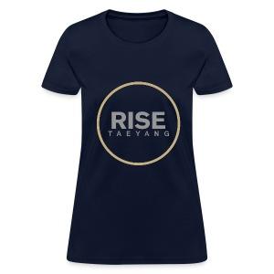 Rise - Bigbang Taeyang - Grey, Gold halo - Women's T-Shirt