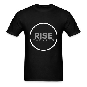 Rise - Bigbang Taeyang - Grey, White halo - Men's T-Shirt