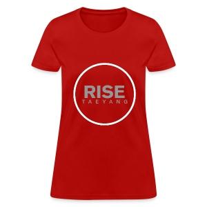 Rise - Bigbang Taeyang - Grey, White halo - Women's T-Shirt