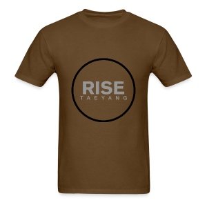 Rise - Bigbang Taeyang - Grey, Black halo - Men's T-Shirt