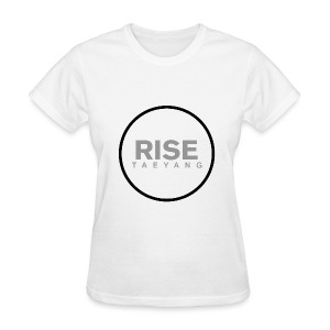 Rise - Bigbang Taeyang - Grey, Black halo - Women's T-Shirt