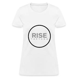 Rise - Bigbang Taeyang - Grey, Black halo - Women's T-Shirt