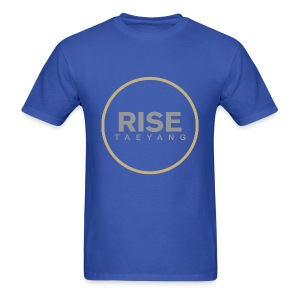 Rise - Bigbang Taeyang - Grey, Gold halo - Men's T-Shirt