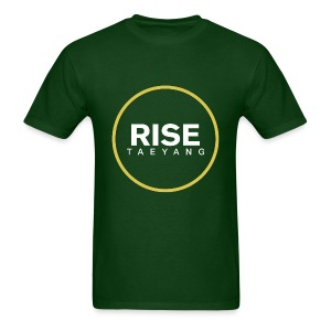 Rise - Bigbang Taeyang - White, Yellow halo - Men's T-Shirt