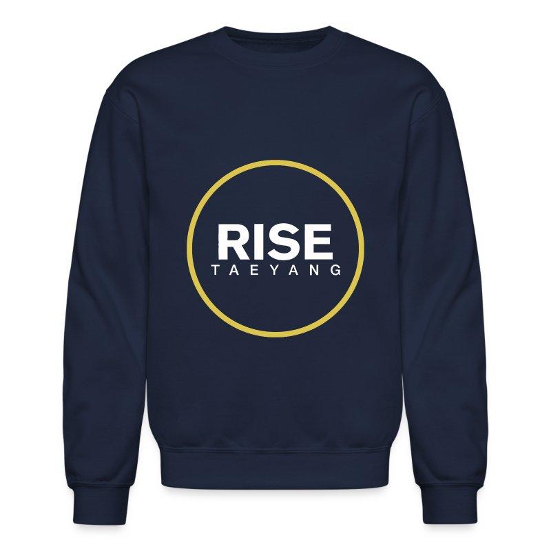 Rise - Bigbang Taeyang - White, Yellow halo - Crewneck Sweatshirt