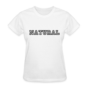 NATURAL standard fit tee - Women's T-Shirt