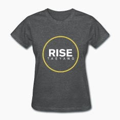 Rise - Bigbang Taeyang - White, Yellow halo Women's T-Shirts