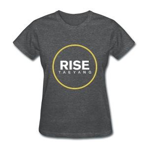 Rise - Bigbang Taeyang - White, Yellow halo - Women's T-Shirt