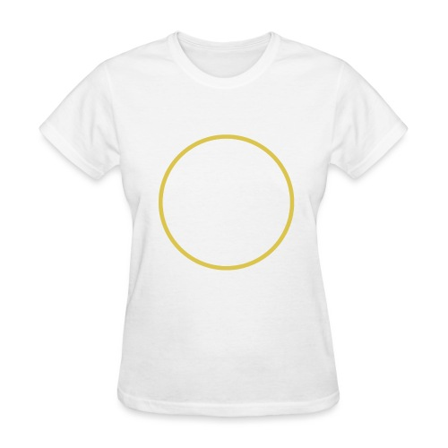 Rise - Bigbang Taeyang - White, Yellow halo - Women's T-Shirt