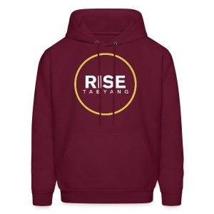 Rise - Bigbang Taeyang - White, Yellow halo - Men's Hoodie