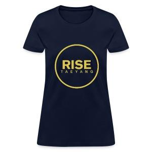 Rise - Bigbang Taeyang - Yellow  - Women's T-Shirt