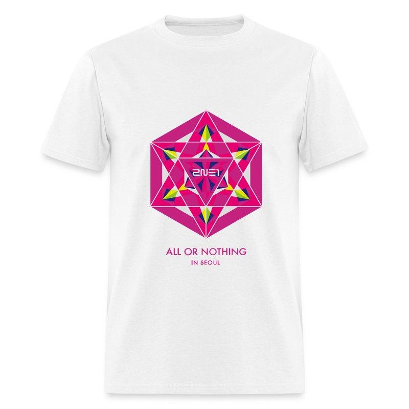 2NE1 Seoul All or Nothing  - Men's T-Shirt