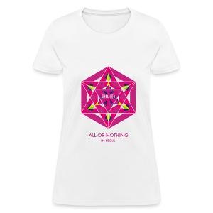 2NE1 Seoul All or Nothing  - Women's T-Shirt