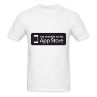 T-Shirts ~ Men's T-Shirt ~ Not available on the App Store - Black