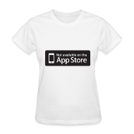 T-Shirts ~ Women's T-Shirt ~ Not available on the App Store - Black