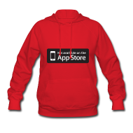 Hoodies ~ Women's Hoodie ~ Not available on the App Store - Black