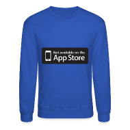Long Sleeve Shirts ~ Crewneck Sweatshirt ~ Not available on the App Store - Black