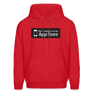 Hoodies ~ Men's Hoodie ~ Not available on the App Store - Black