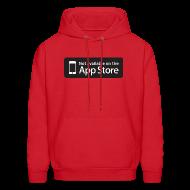 Hoodies ~ Men's Hoodie ~ Not available on the App Store - Black