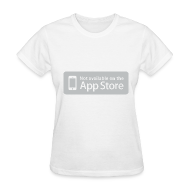 T-Shirts ~ Women's T-Shirt ~ Not available on the App Store - Grey