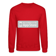 Long Sleeve Shirts ~ Crewneck Sweatshirt ~ Not available on the App Store - Grey