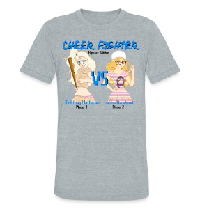 Cheer Fighter - Unisex Tri-Blend T-Shirt by American Apparel