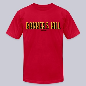 Bankers Hill  - Men's T-Shirt by American Apparel