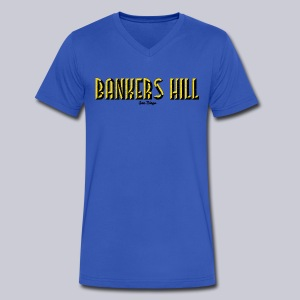 Bankers Hill  - Men's V-Neck T-Shirt by Canvas