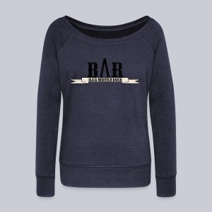Black Mountain Ranch - Women's Wideneck Sweatshirt