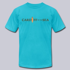 cardiff - Men's T-Shirt by American Apparel