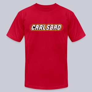 Carlsbad - Men's T-Shirt by American Apparel
