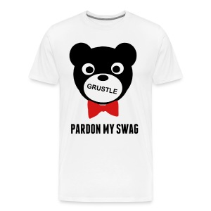 Grustle  SWAG BEAR  Mens Tee - Men's Premium T-Shirt