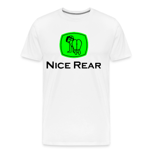Men's Premium T-Shirt - Nice Rear (John Deere Parody) Version 2
