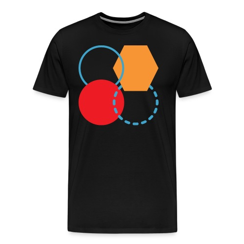 Mens Shirt // Abstract Four - Men's Premium T-Shirt