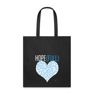 Hope(full) - Blue Tote - Tote Bag