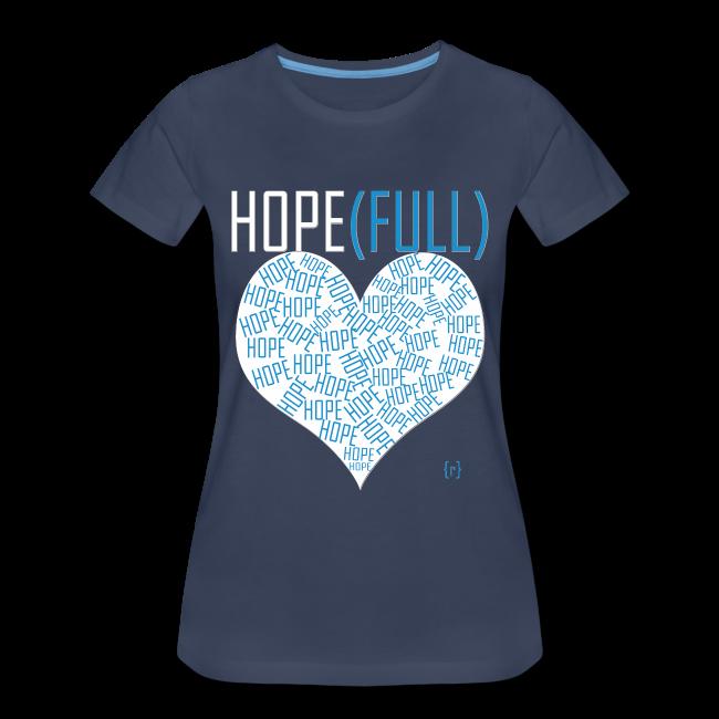 Hope(full) Tee - Blue