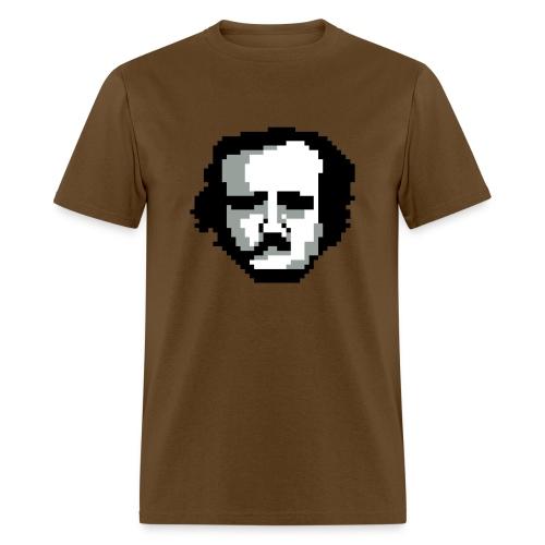 Pixel Poe - Brown - Men - Men's T-Shirt