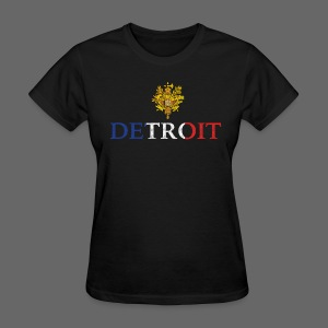 Detroit French COA - Women's T-Shirt