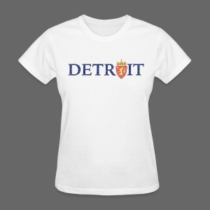 Detroit Norway COA - Women's T-Shirt
