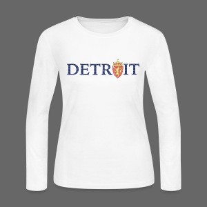 Detroit Norway COA - Women's Long Sleeve Jersey T-Shirt