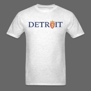 Detroit Norway COA - Men's T-Shirt