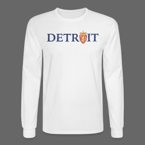 Detroit Norway COA - Men's Long Sleeve T-Shirt