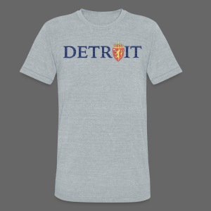 Detroit Norway COA - Unisex Tri-Blend T-Shirt by American Apparel