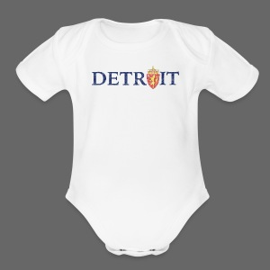 Detroit Norway COA - Short Sleeve Baby Bodysuit