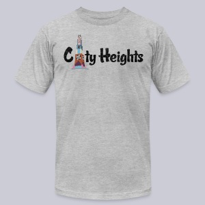 City Heights San Diego  - Men's T-Shirt by American Apparel