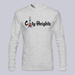 City Heights San Diego  - Men's Long Sleeve T-Shirt by Next Level